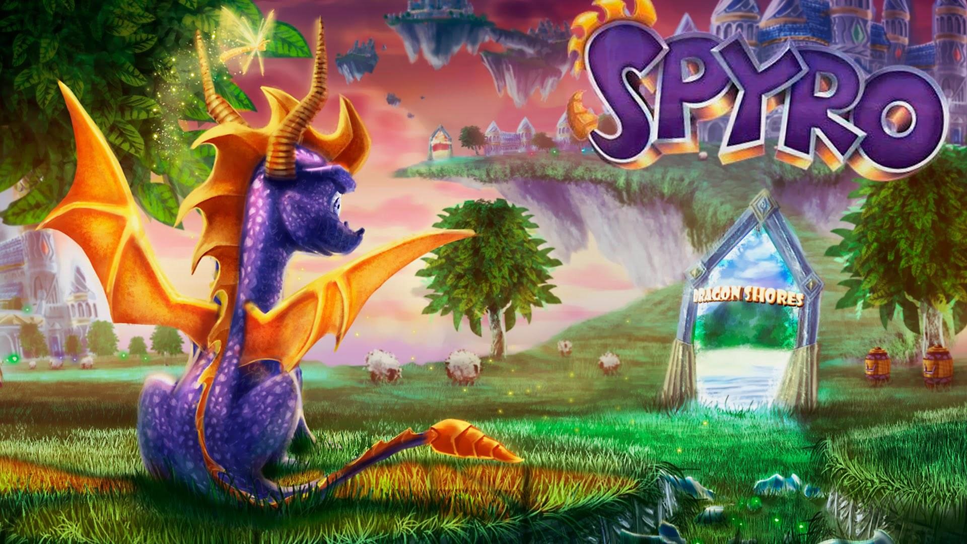 Spyro reignited trilogy lights up your ps4 this september - Spyro wallpaper ...
