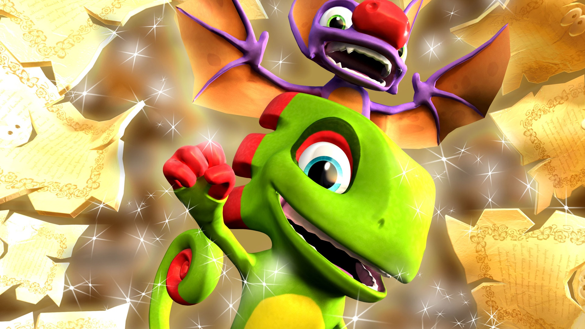 Yooka-Layee by Playtonic Games